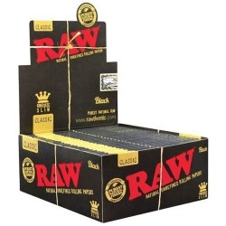 Raw Black King Size