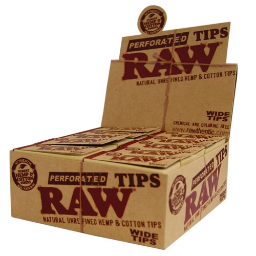 Raw Wide Tips Organic