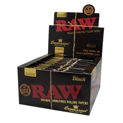 Raw Black Connoisseur King...