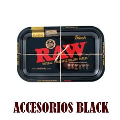 Papel Raw Black