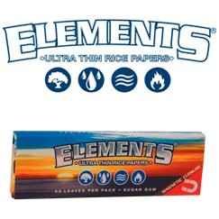 Papel de fumar Elements blue